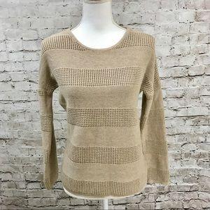 Banana Republic Tan Knit Sweater